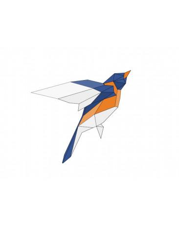 Pliage papier Origami Akyrès - Oiseau A