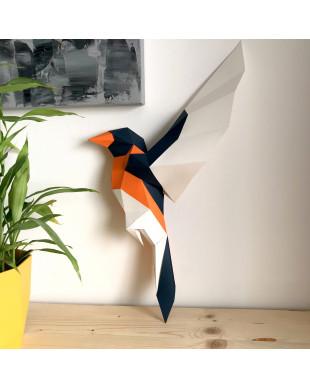 Pliage papier Origami Akyrès -  Oiseau B
