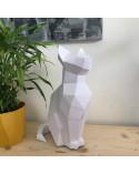 Pliage papier Origami Akyrès - CHAT