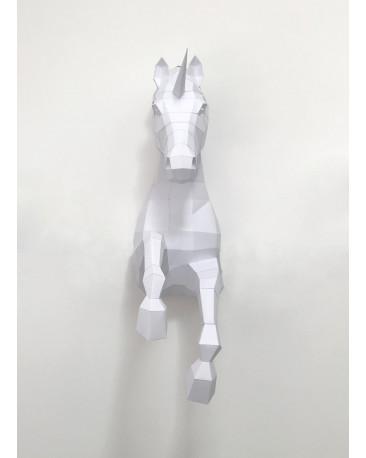 Pliage papier Origami Akyrès - Licorne