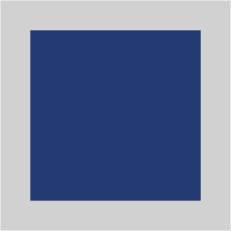 Bleu / Argenté