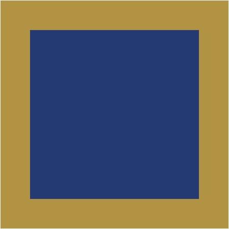Bleu / Doré