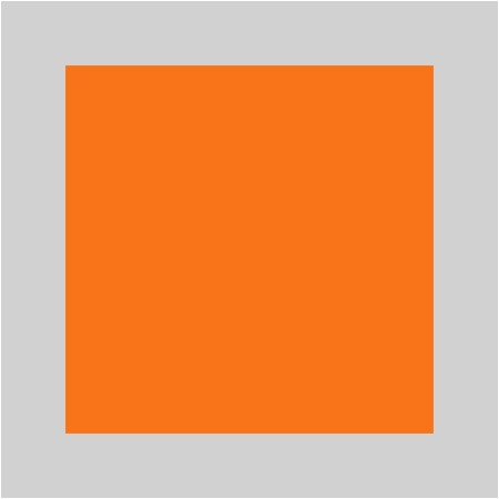 Orange / Argenté
