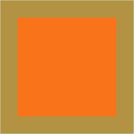 Orange / Doré