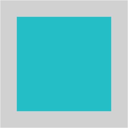 Turquoise / Argenté